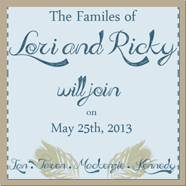 Lori and Ricky Wedding Website